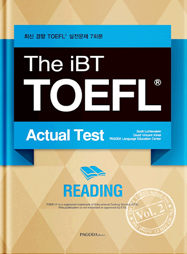 The iBT TOEFL Actual Test Vol. 2 Reading